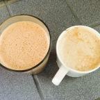 """The dynamic """"breakfast"""" duo!"""